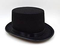 """Шляпа """"Цилиндр"""" черная, фото 1"""
