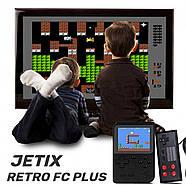 Игровая приставка JETIX 8 Bit Retro FC PLUS с дополнительным джойстиком, фото 3