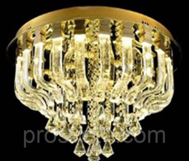 Люстра хрустальная потолочная светодиодная Л MD1F447-14