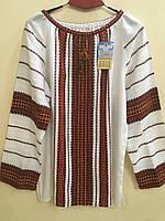 Вишиванка жіноча домоткана ручної роботи ткана на верстаті від 50-54 розмір (3ХL), фото 1