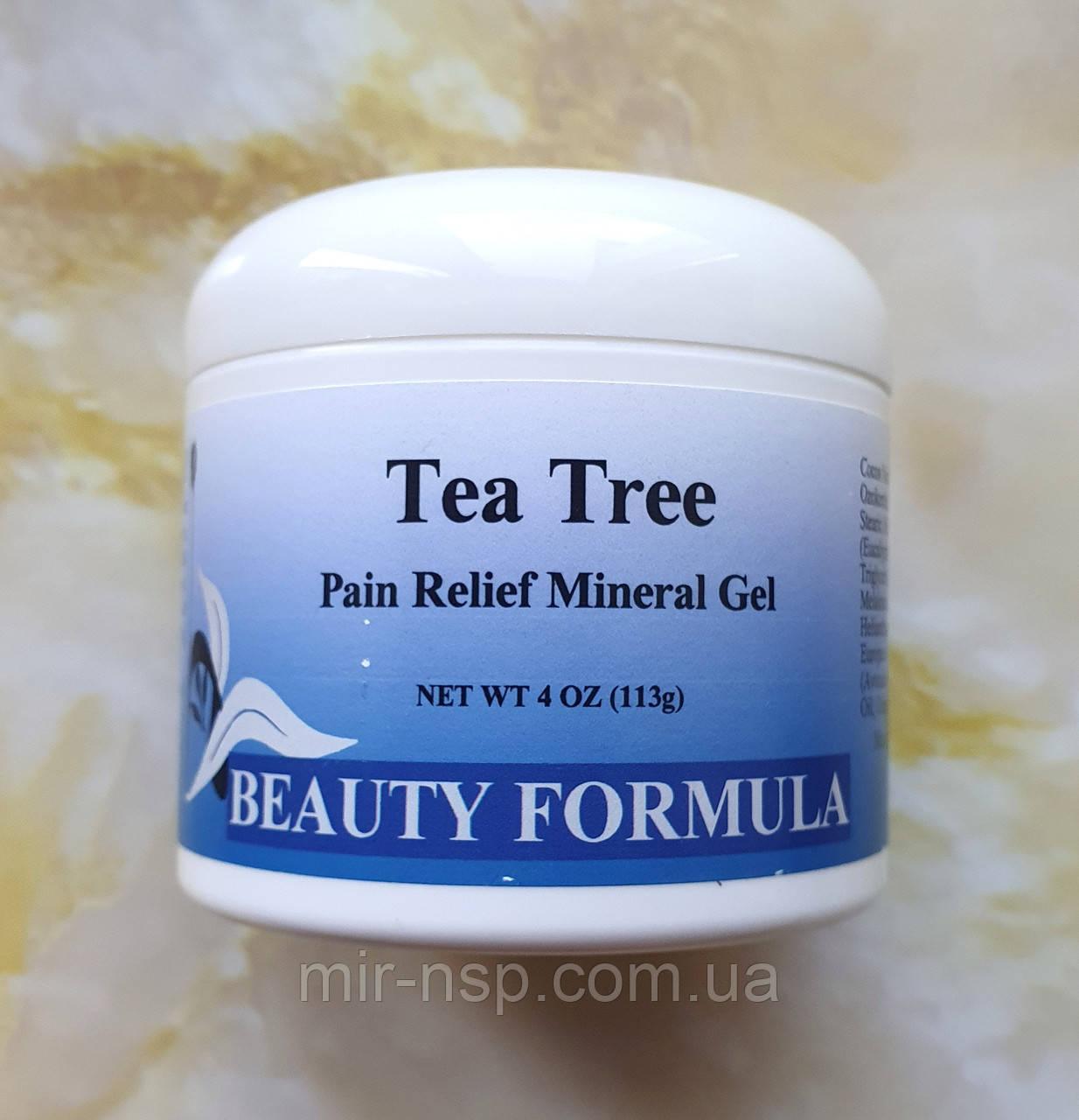 Гель с маслом чайного дерева Альтера Холдинг Формула Здоровья Бьюти формула