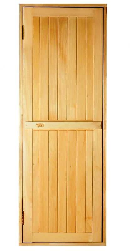 """Дверь для бани и сауны """" Глухая -Л """" 190 х 70"""