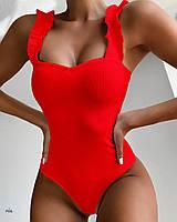 Женский цельный купальник, фото 1