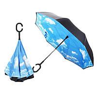 Зонтик автомат umbrella № F08-I  НЕБО