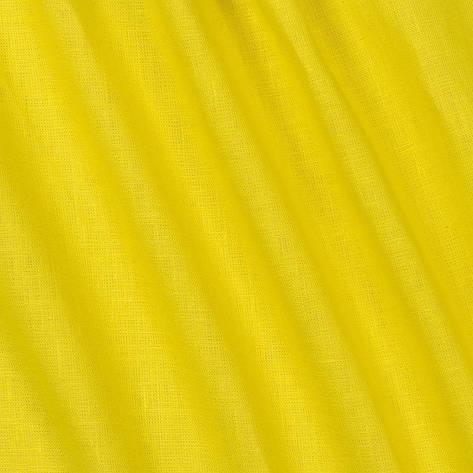 Ткань Лен, 55% Лен и 45% Вискоза, Желтый, фото 2