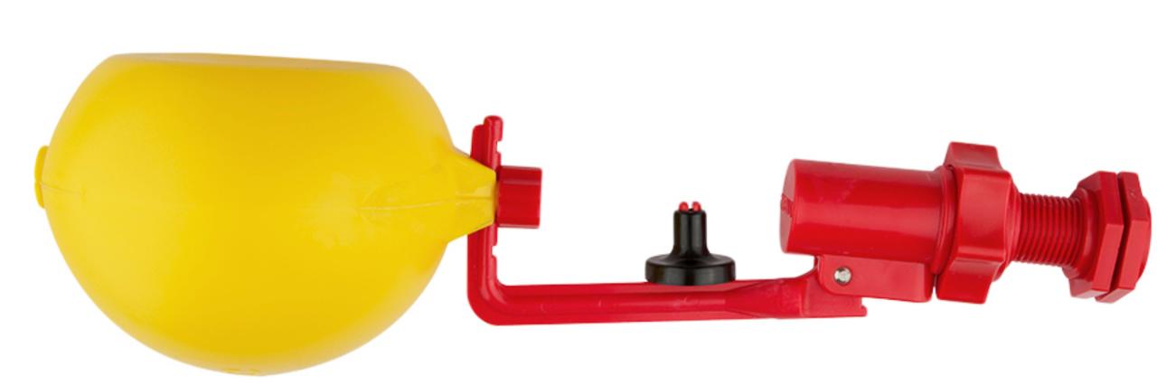 Поплавковый клапан для резервуаров для воды в системах полива
