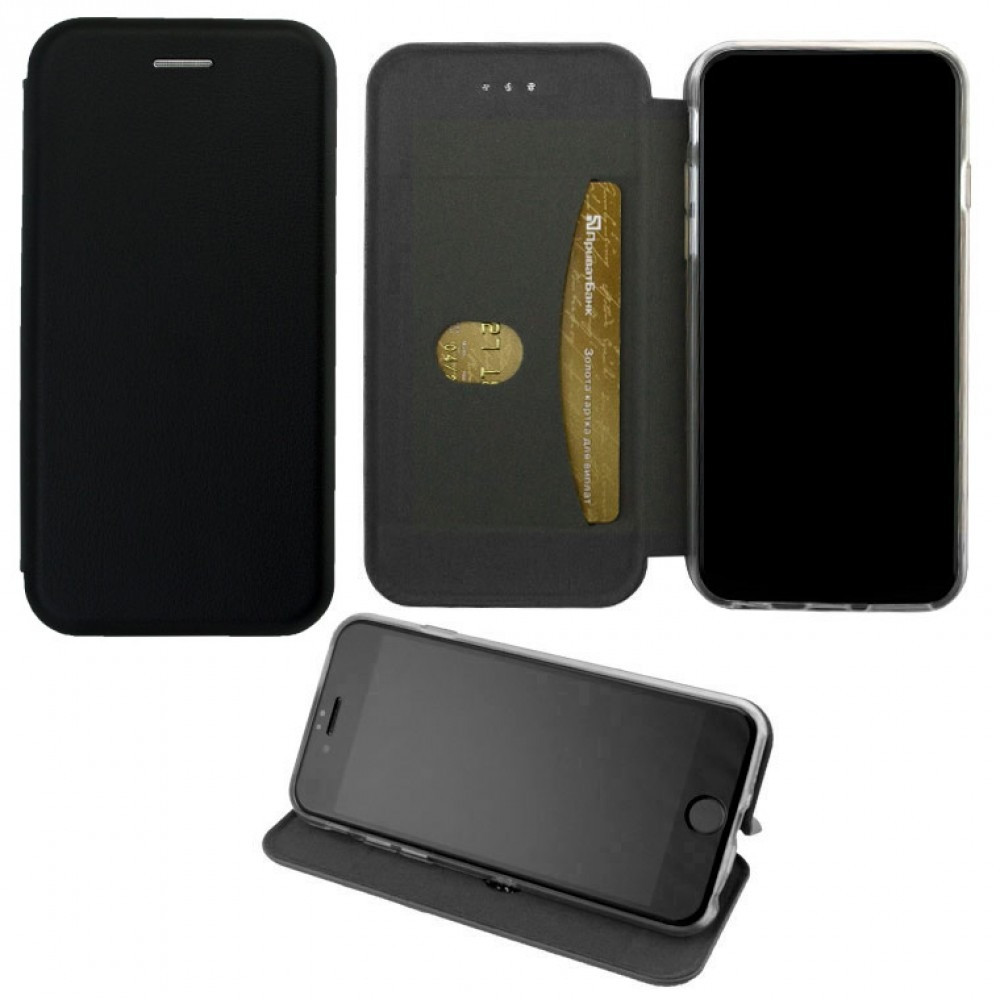 Чехол-книжка Elite Case Samsung A8 Plus 2018 A730 Black