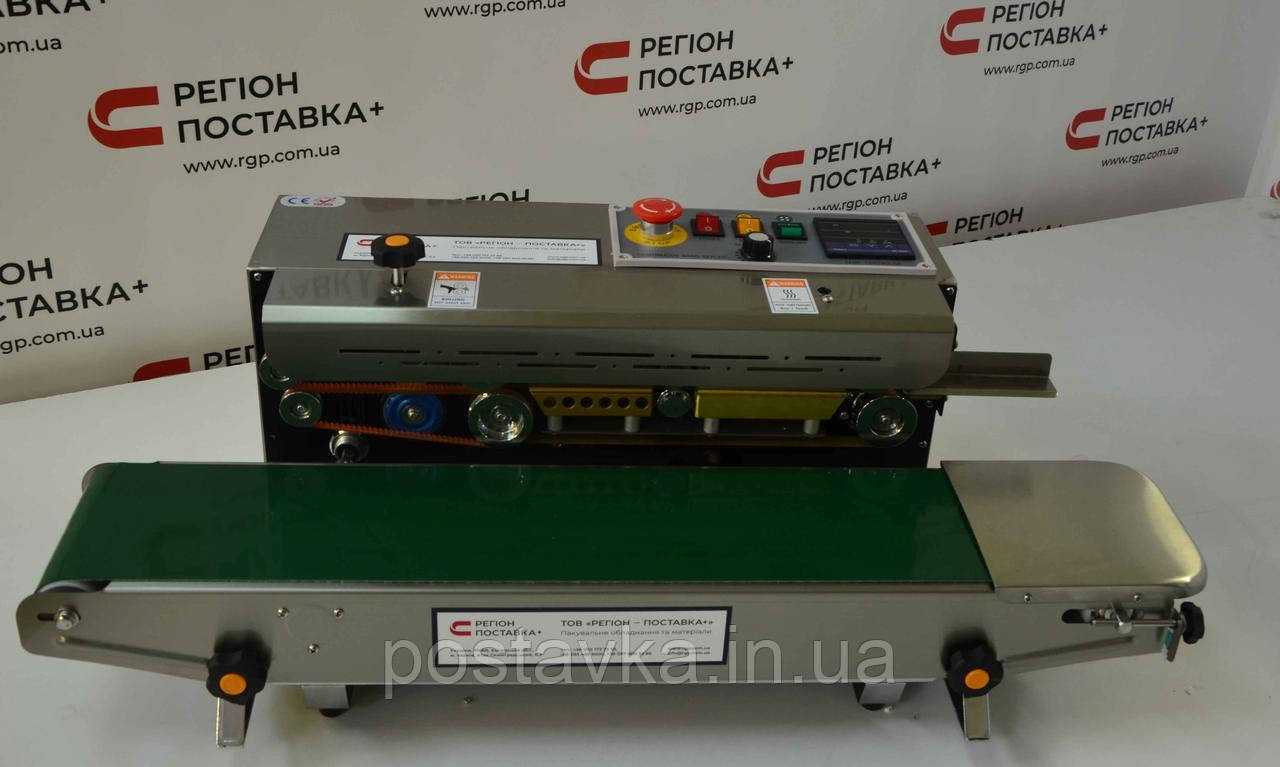 Настольный запайщик конвейерного типа FRD-1000