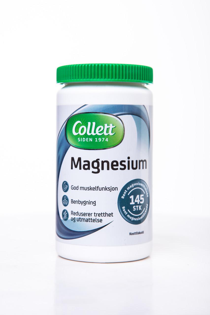 Магний/Магнезиум, Collett, Норвегия, 145 таблеток