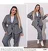 Костюм с пиджаком двойка брючный лён полированный 48-50;52-54;56-58;60-62, фото 3