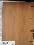 Межкомнатная дверь  Гармония Экошпон со стеклом сатин, цвет ольха 3D, фото 2