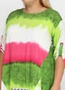 Туника M Lady абстрактная салатовая, фото 3