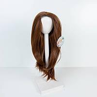 Парик для куклы, прямые шангрила (объем 25-28) - длина около 28 см