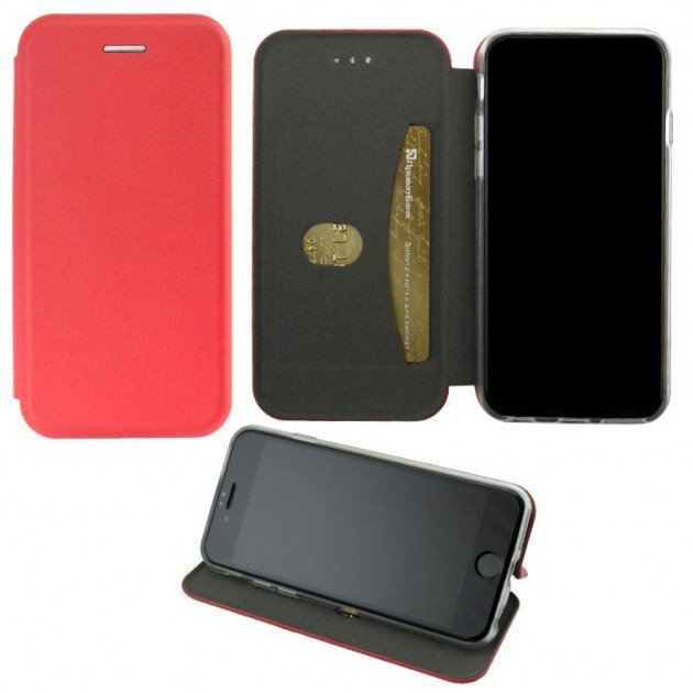 Чехол-книжка Elite Case Samsung A6 2018 A600 Red