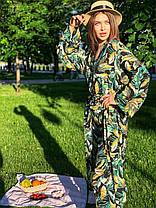 Летний костюм со штанами и накидкой, фото 3