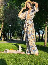 Летний костюм со штанами и накидкой, фото 2