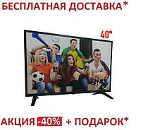 "Телевизор  40"" Smart FHD (E40DM2500)Smart + T2 E40DU1100. 40-дюймовый тонкий экран"
