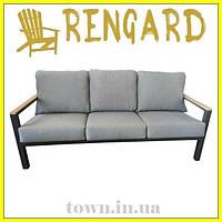 Мягкий диван в гостинную для дома Lilis, дизайнерский в стиле лофт. Диван для кафе,для ресторанов,для терассы