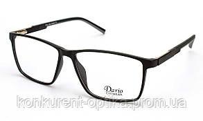 Стильная черная мужская оправа Dario 310355
