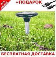 Ультразвуковой отпугиватель кротов грызунов на солнечной батарее Solar Rodent Repeller ST-24 2434460