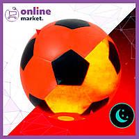 Светящийся в темноте мяч с LED подсветкой / Футбольный лед мяч / Мячи