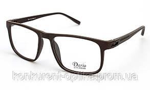 Чоловічі окуляри в стильній чорній оправі Dario 310356