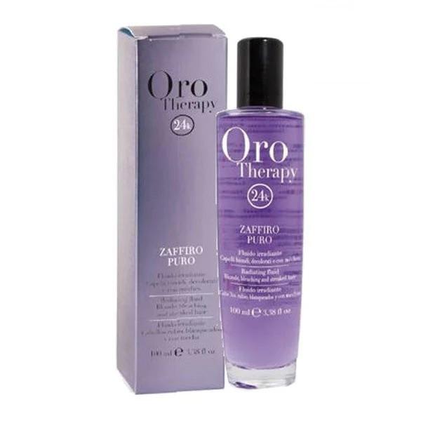 Рідкі кристали «САПФІР» для освітлених і світлих волосся Fanola Oro Therapy 100 мл