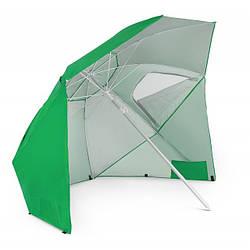 Зонт пляжный складной диаметром 210 см di Volio Sora зеленого цвета садовый зонт