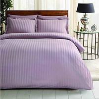 Постельное белье Tac жаккард - Noble lila лиловый евро