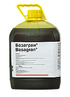 Контактный послевсходовый гербицид Базагран 10л, для гороха, сои, риса, пшеницы, ячменя