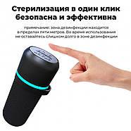Кварцевая бактерицидная лампа UVCLife BMQ Portable (черный) +  Оксиметр JETIX A2 Oximeter Pulse, фото 5
