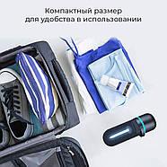 Кварцевая бактерицидная лампа UVCLife BMQ Portable (черный) +  Оксиметр JETIX A2 Oximeter Pulse, фото 6