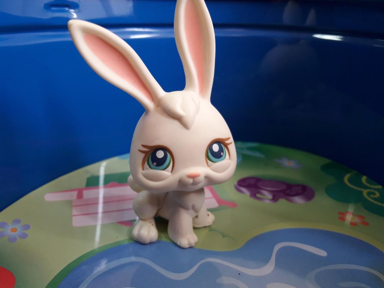 Lps littlest pet shop - лпс кролик #3 Hasbro старая коллекция
