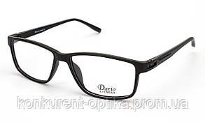 Чоловічі окуляри в стильній чорній оправі Dario 310359