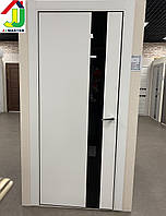 Двери межкомнатные U2 Белое софт тач айс, дверь для квартиры, дверь для дома, дверь в офис.