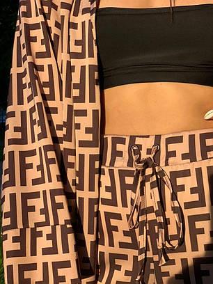 Женский костюм с принтом, фото 2