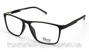 Имидживые роговые очки для мужчин в черном свете Dario 310360