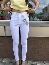 Джинсы Skinny белые