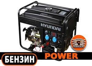 Сварочный генератор 5 кВт Hyundai HYW 210AC с встроенной инверторной сваркой (Бесплатная доставка по Украине)