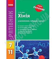 Рятівник Хімія у визначеннях, таблицях і схемах Авт: Білик О. Вид-во: Ранок, фото 1