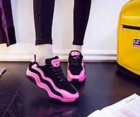 Женские стильные кроссовки. Три цвета: розовый, белый и сиреневый, фото 9