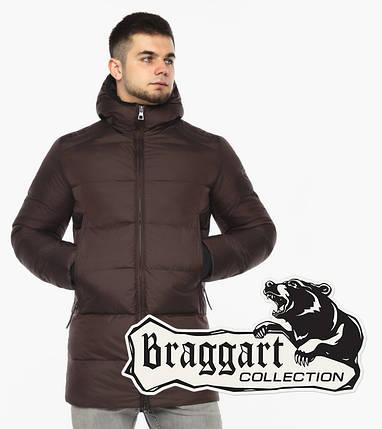 Braggart Aggressive 38050 | Куртка мужская цвета шоколад, фото 2