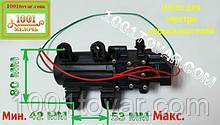 Насос мембранный в сборе 12 V, модель KF-2203, для замены электроаккумуляторных опрыскивателях