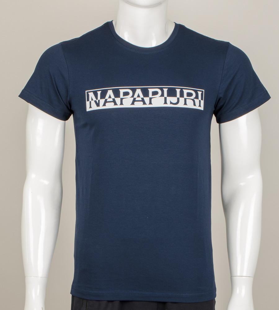Футболка мужская NAPAPIJRI (0912м), Т.Синий