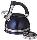 Чайник зі свистком для плити нержавійка A-PLUS 3.0 л, фото 4