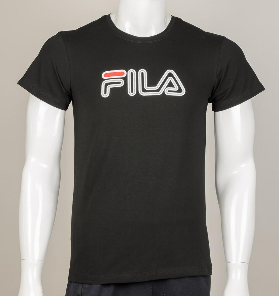 Футболка чоловіча FILA (0914м), Чорний