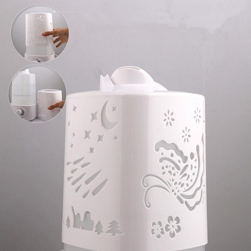 Ультразвуковой увлажнитель воздуха с подсветкой (уценка)