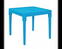 Стіл дитячий 51*51см, h-47 см (блакитний)