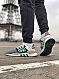 Мужские кроссовки Adidas EQT Support в стиле Адидас ЕКТ СЕРЫЕ (Реплика ААА+), фото 7