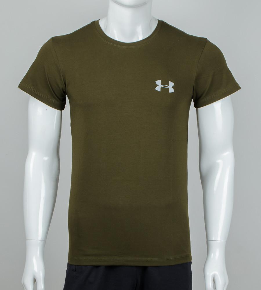 Футболка мужская светоотражающая Under Armour (0926м), Хаки